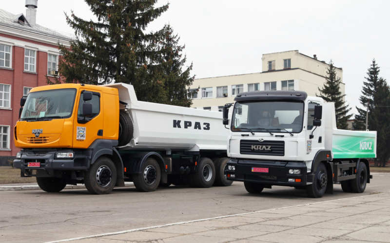 KrAZ intrigues with a compact truck