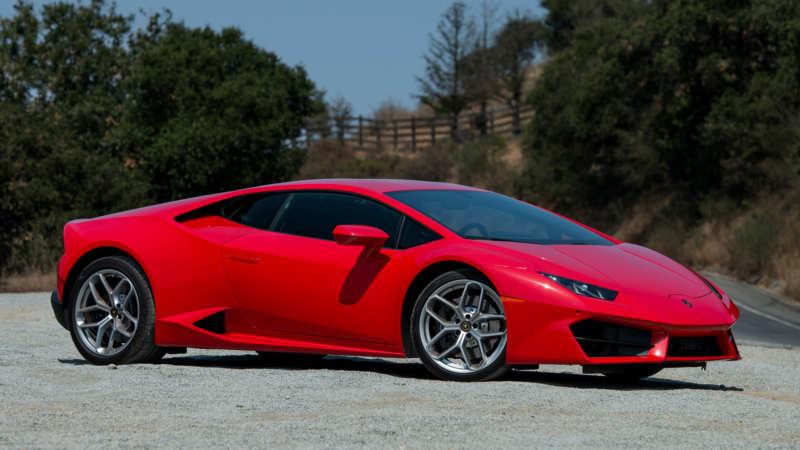 Supercar Lamborghini Huracan made a budget