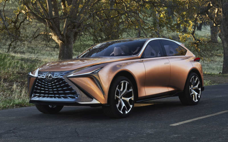 Lexus is preparing to release the latest super-crossover
