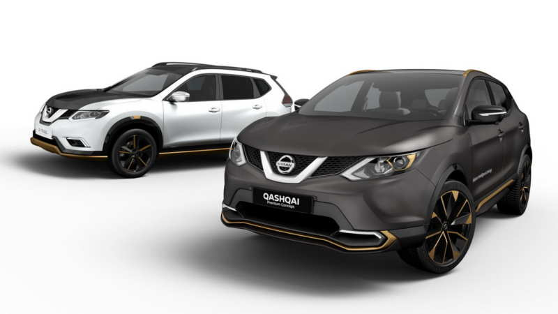 Special versions of Nissan Qashqai and X-Trail are officially presented