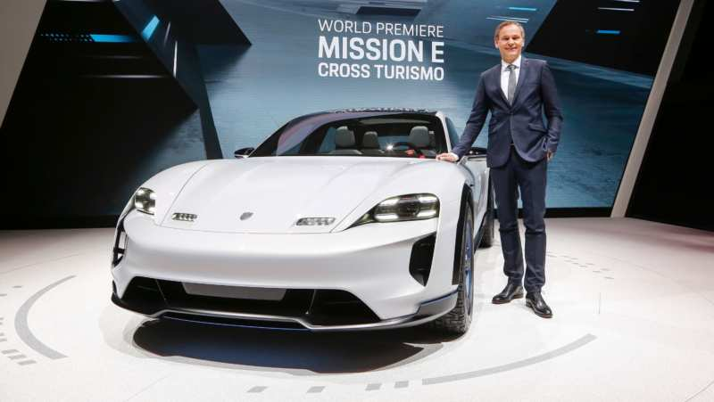 The most advanced Porsche Mission E