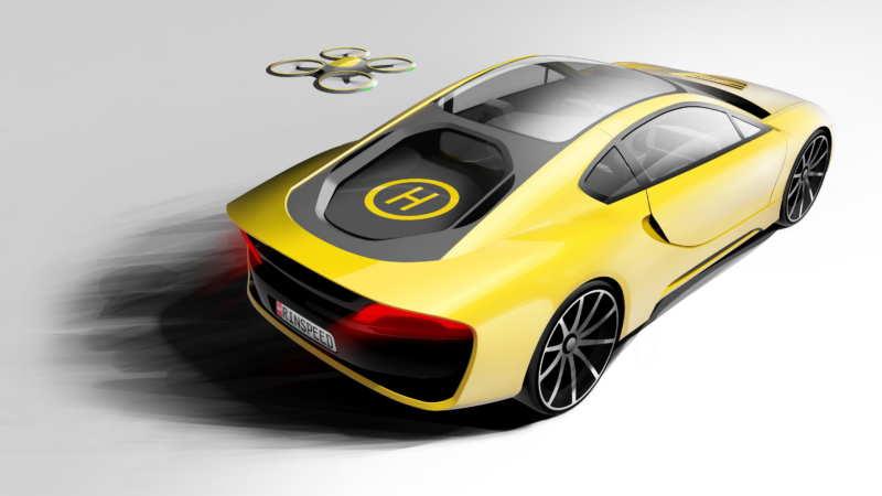 Rinderknecht brought flying drones to Geneva