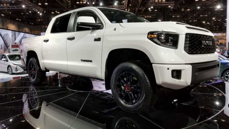 Toyota is preparing an update to the Tundra