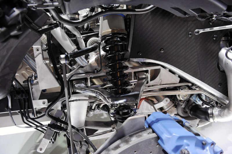 Bugatti Veyron suspension