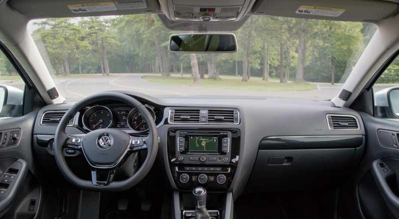 Interior of Volkswagen Jetta