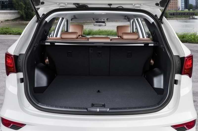 Hyundai Santa Fe 3 trunk