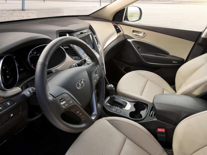 Interior Hyundai Santa Fe 3