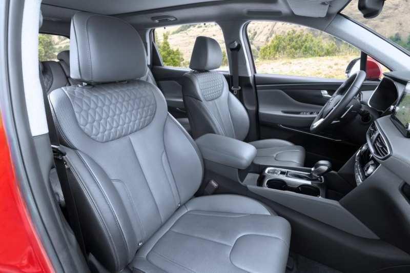 Hyundai Santa Fe Front seats