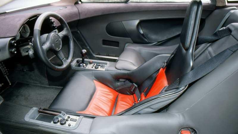 Interior McLaren F1