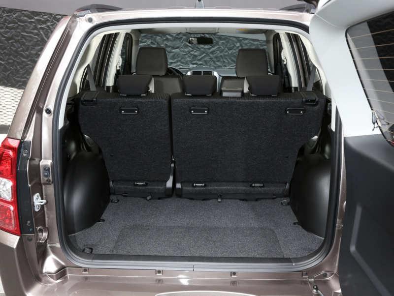 The trunk of the Suzuki Grand Vitara