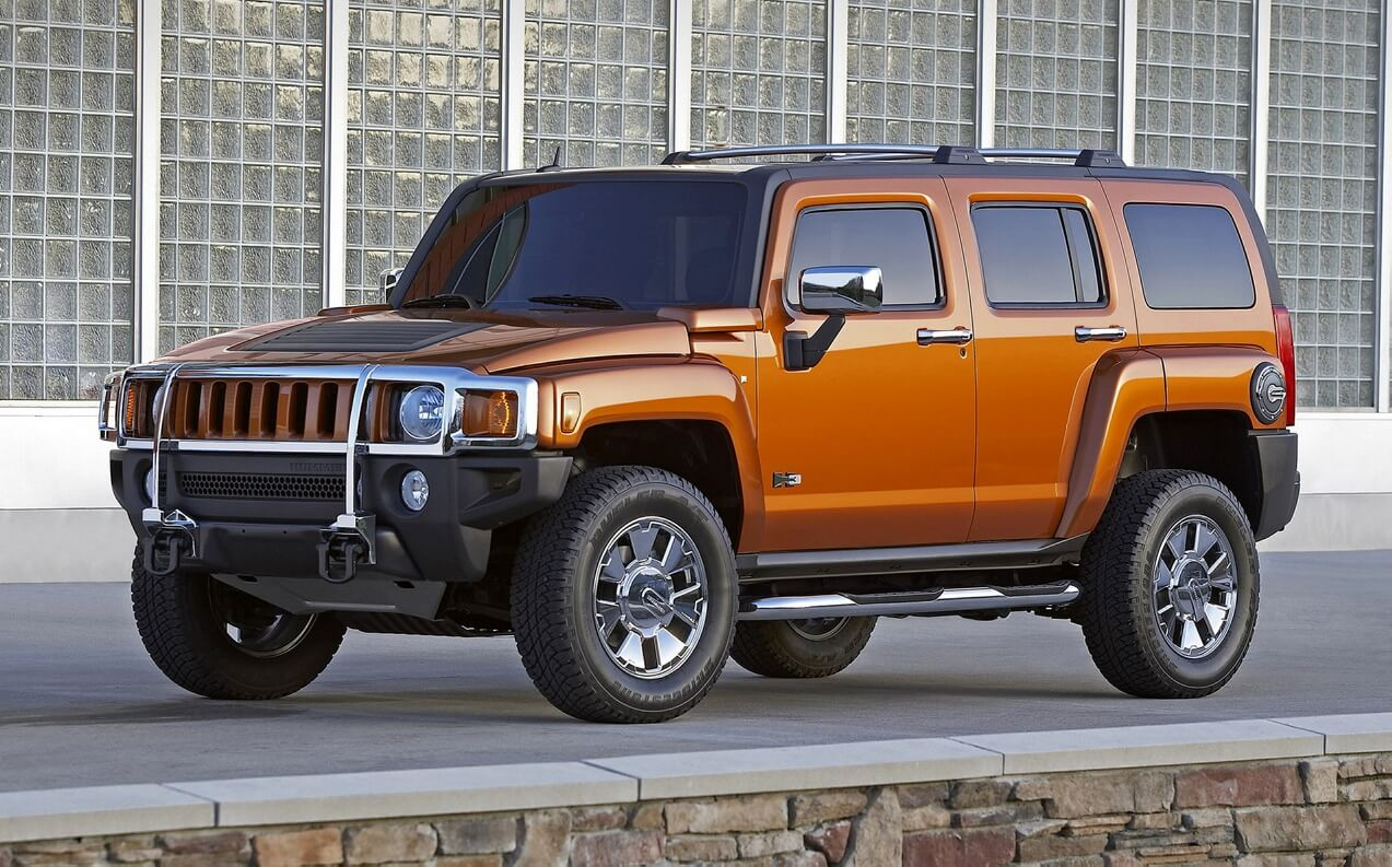 Hummer H3 - specifications, equipment, photos, videos ...