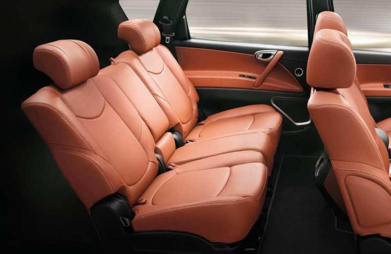 Luxgen 7 SUV salon