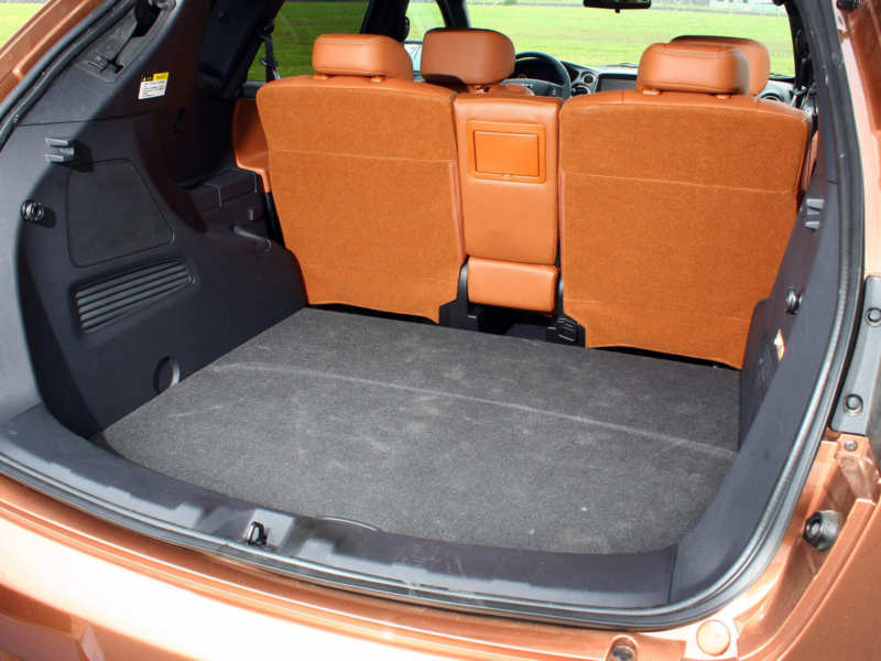 The trunk of Luxgen 7 SUV