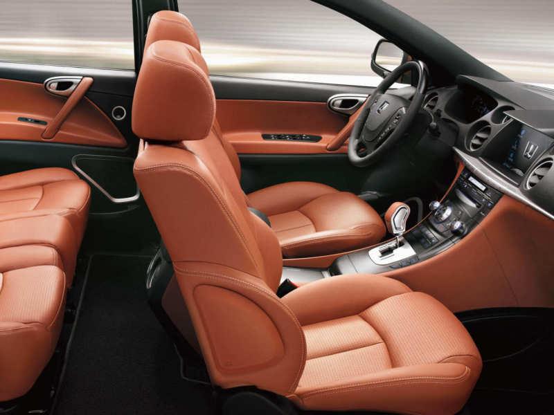 Interior Luxgen 7 SUV