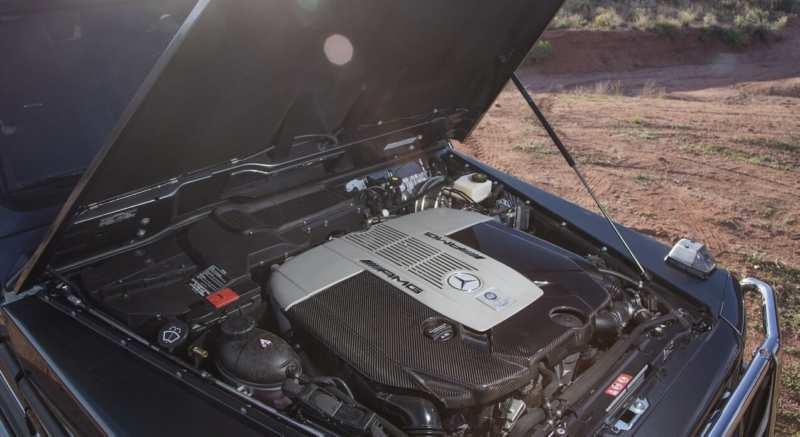 Mercedes-AMG G65 engine