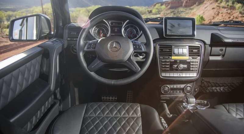 Interior Mercedes-AMG G65