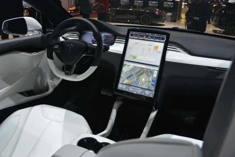 Tesla Model X Salon