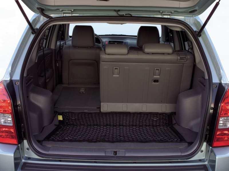 The trunk Hyundai Tucson