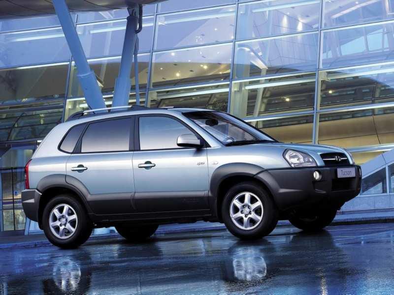 Hyundai Tucson I generation