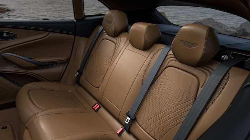 Aston Martin DBX rear sofa