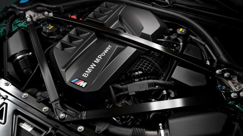 BMW M3 Competition engine
