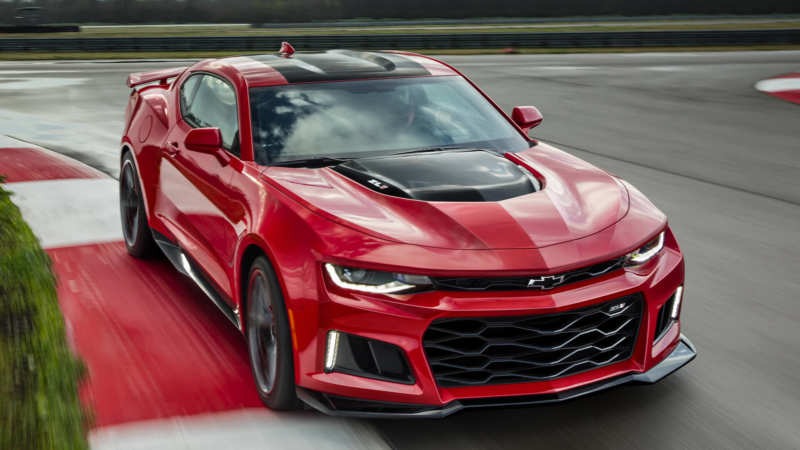 Photo Chevrolet Camaro ZL1