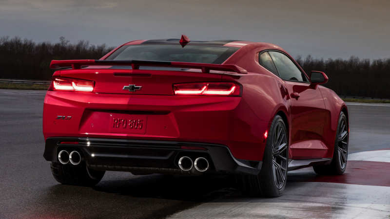 Chevrolet Camaro ZL1 rear view