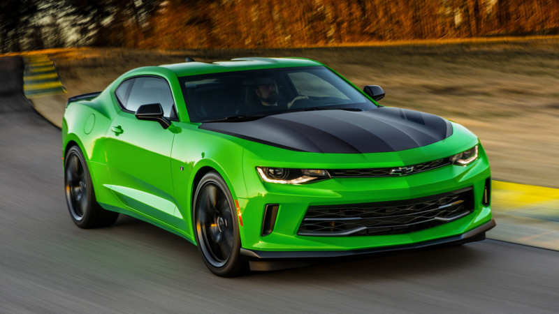 Chevrolet Camaro ZL1 1LE sports car