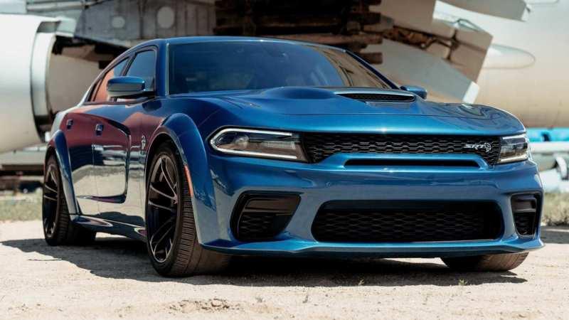 Dodge Charger SRT Hellcat supercar
