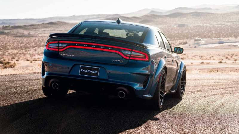 Dodge Charger SRT Hellcat rear view