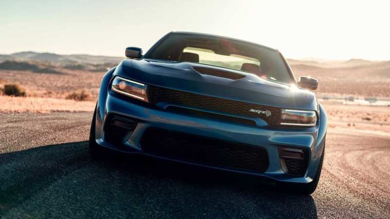 Dodge Charger SRT Hellcat front view