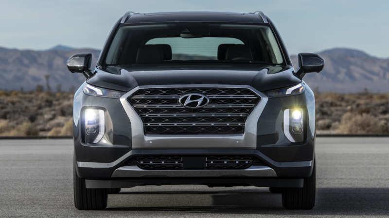 Hyundai Palisade front view