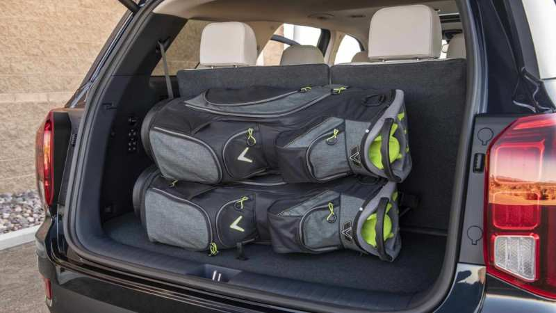 Hyundai Palisade trunk