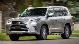 Lexus LX 570 side view