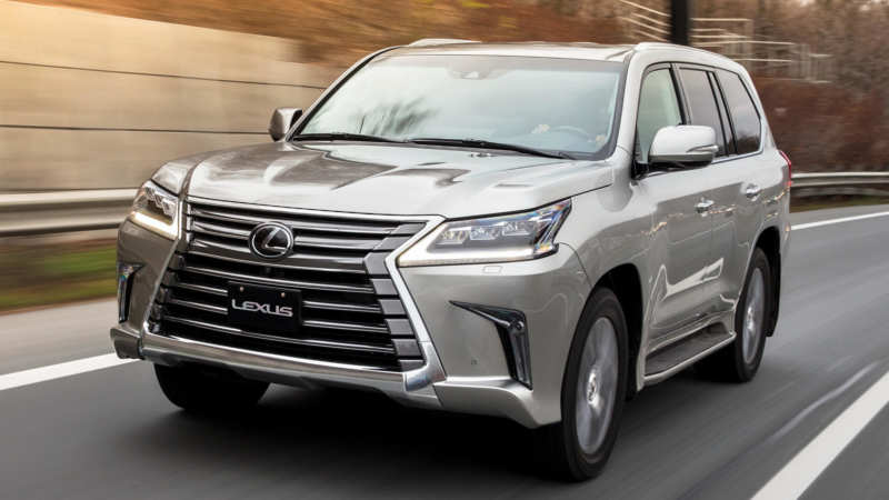 Lexus LX570 car photo