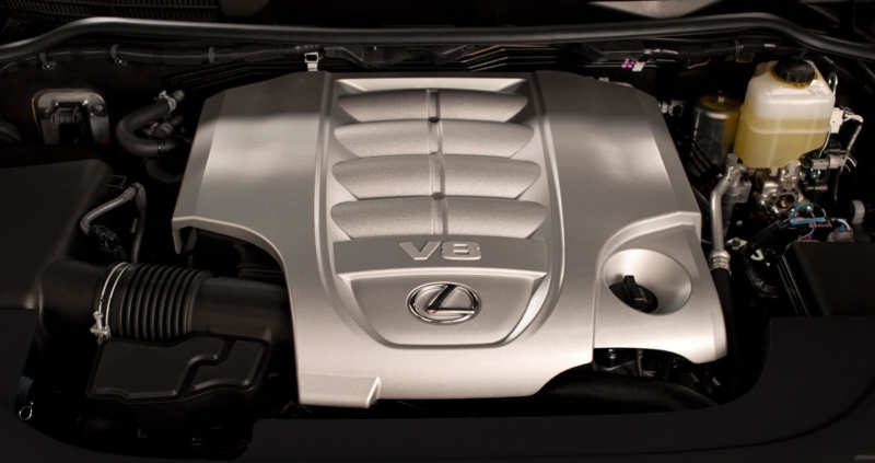 Lexus LX570 engine