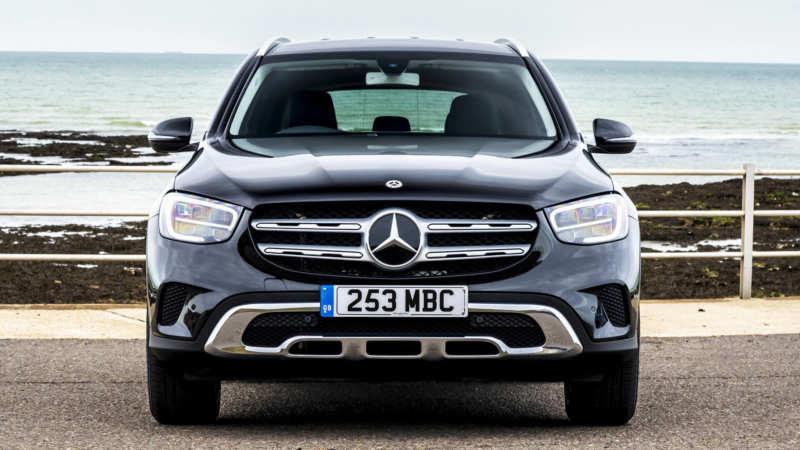 Mercedes-Benz GLC front view