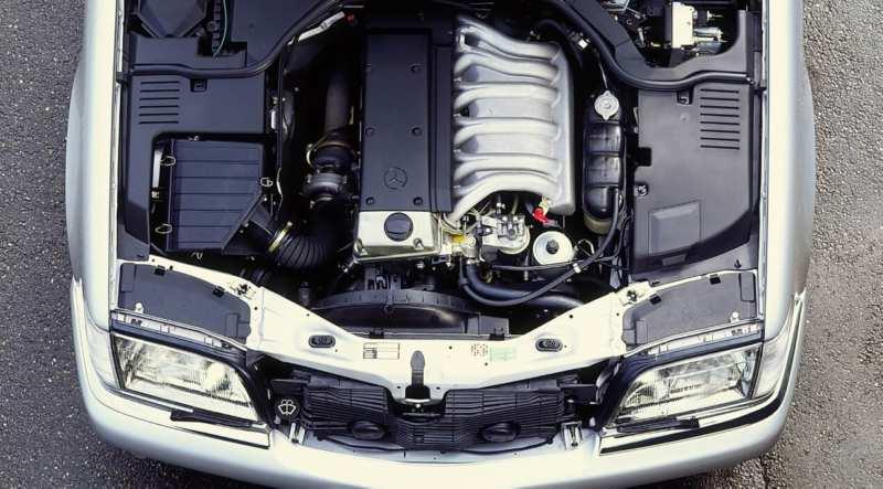 Mercedes-Benz W140 engine