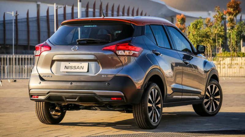 Nissan Kicks rear view