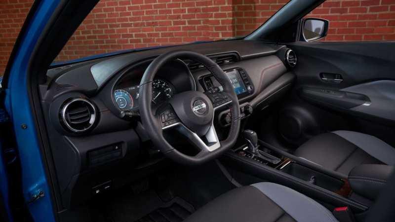 Nissan Kicks interior 2021