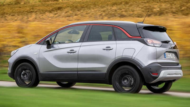 Opel Crossland X car photos