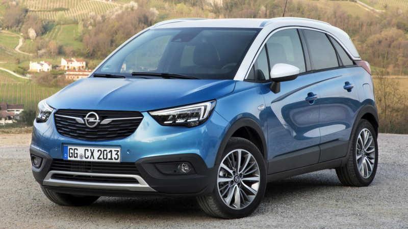 Opel Crossland X front view