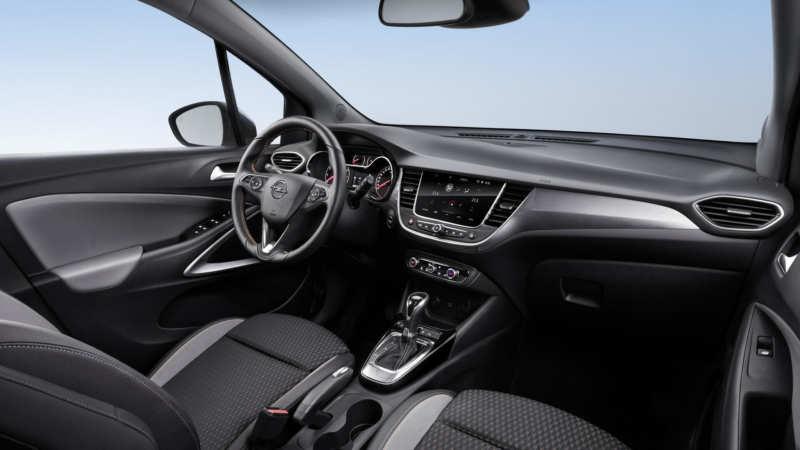 Opel Crossland X interior