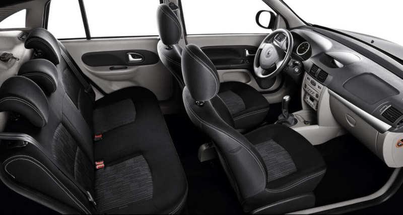 Renault Symbol 2 interior