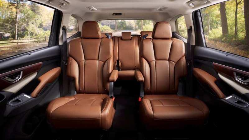 Subaru Ascent car interior