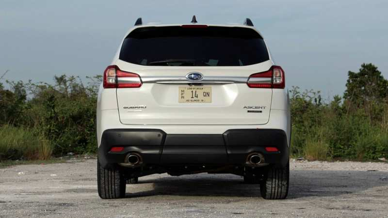 Subaru Ascent rear view