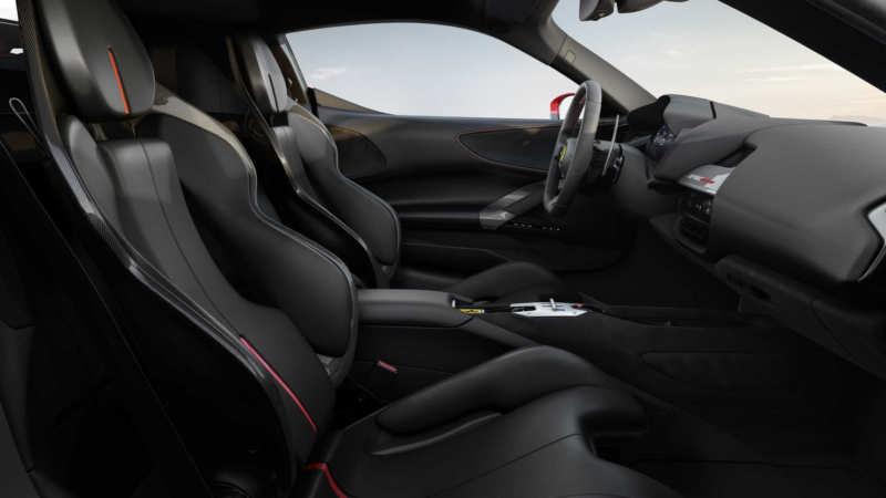 Ferrari SF90 Stradale interior photos