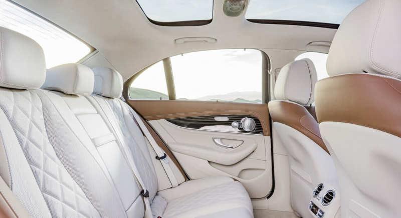 Interior of Mercedes-Benz E-Class W213