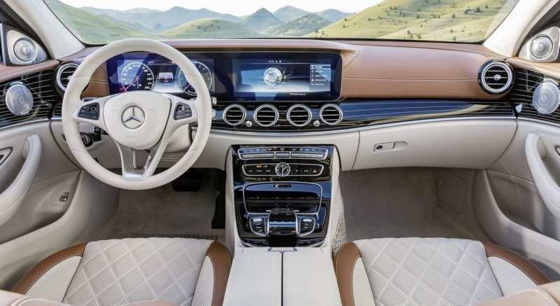 Interior photo of Mercedes-Benz E-Class W213