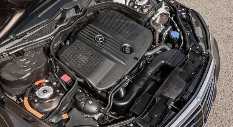 Mercedes-Benz E-Class Engine